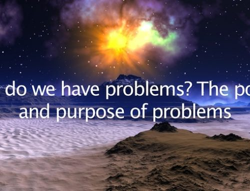 Why do we have Problems? The Power and Purpose of Problems